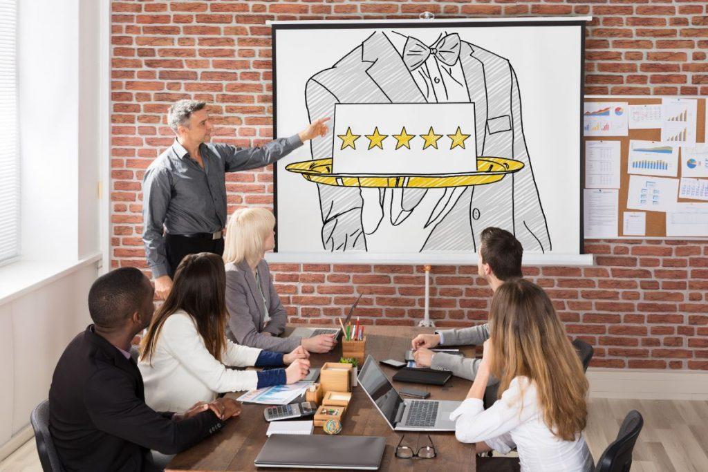 5 star management team meeting